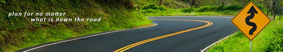 B4 on Path - Winding Road